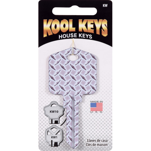 Kool Keys Diamond Plate Key Blank Kwikset 66/97 KW1/10