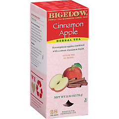 Cinnamon Apple Herbal Tea - Case of 6 boxes- total of 168 teabags