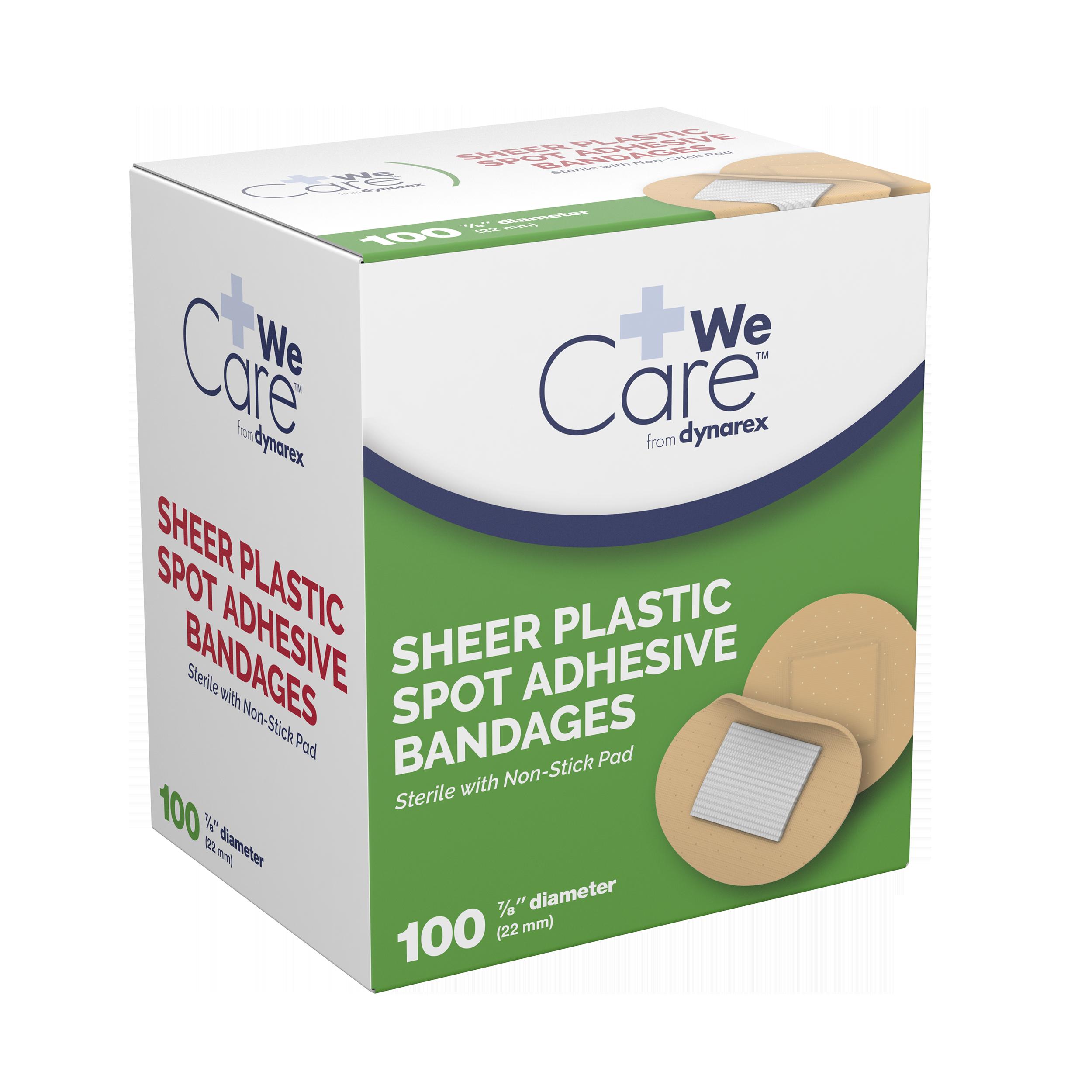Sheer Spot Bandages Sterile - 7/8