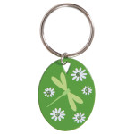 Dragonfly Green Key Chain