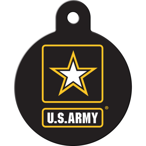 Army Large Circle Quick-Tag 5 Pack