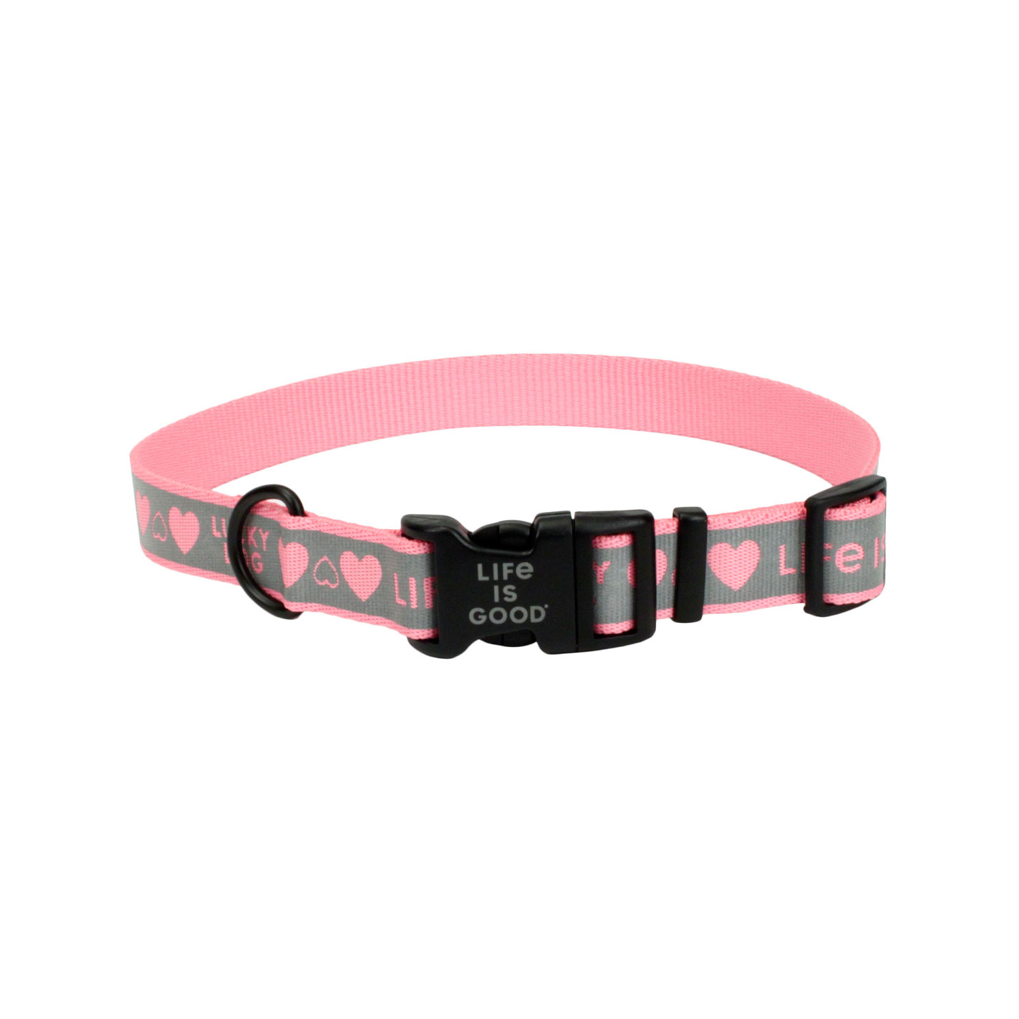 Life is Good® Reflective Dog Collar