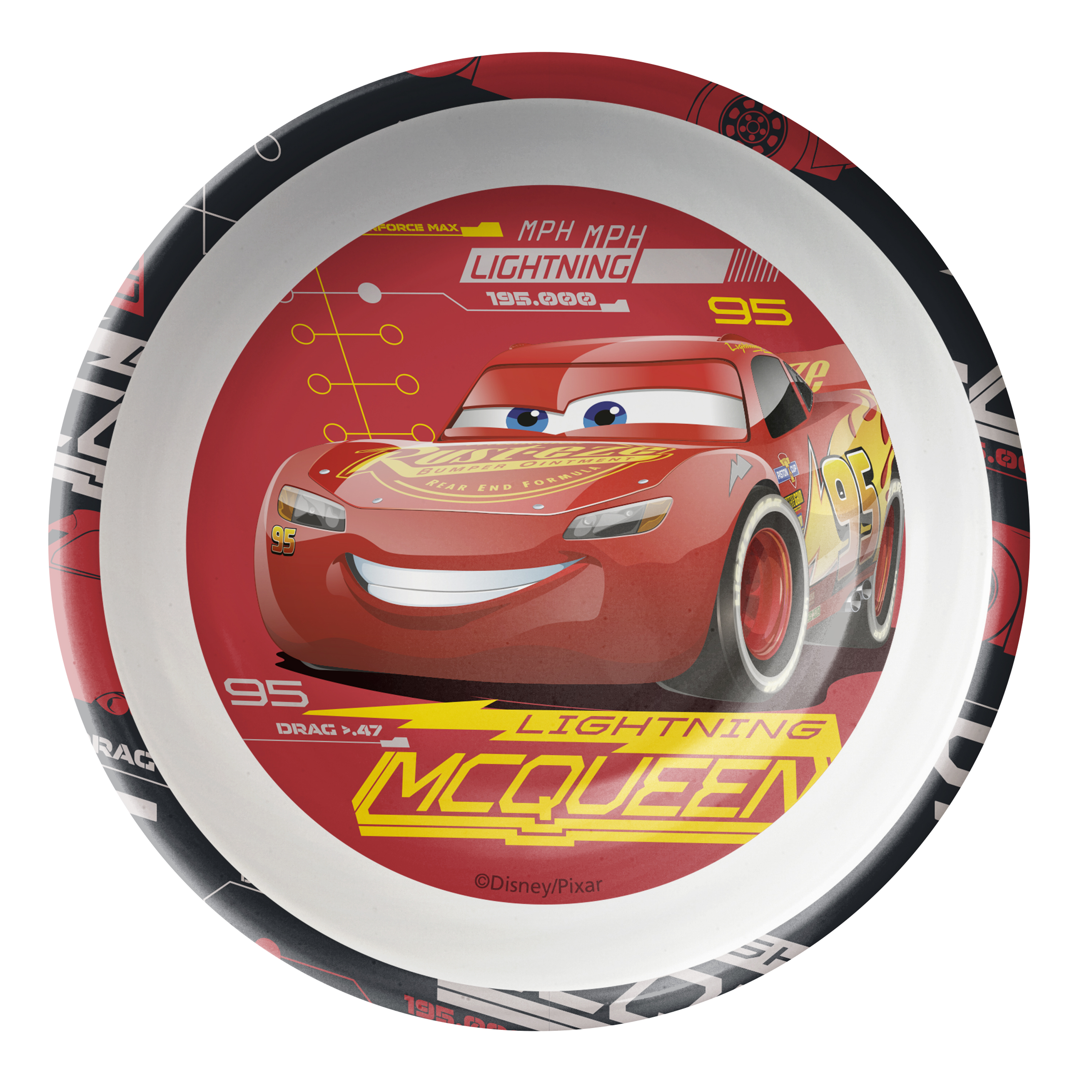 Cars 3 15 ounce Soup Bowl, Lightning McQueen slideshow image 1