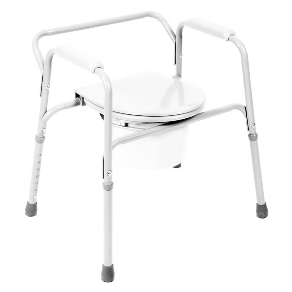 5526 Coated Steel Commode