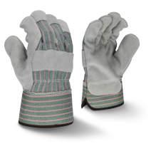 Radians RWG3300 Select Shoulder Gray Split Cowhide Leather Glove