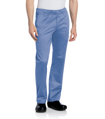 Landau Essentials 5 Pocket Cargo Scrub Pants for Men: Relaxed Fit , Straight Leg Medical Scrubs 2012-