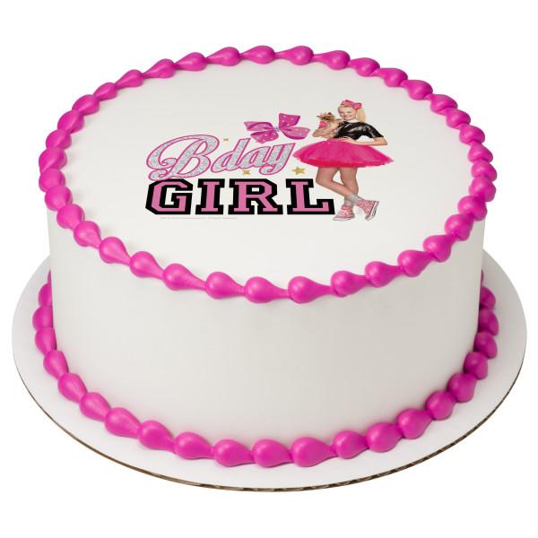 JoJo Siwa™ Bday Girl PhotoCake® Edible Image®