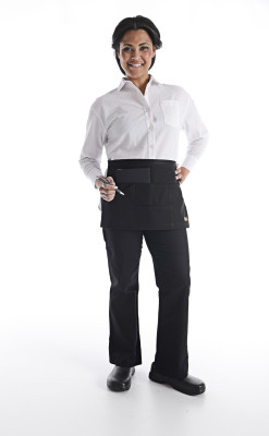 Unisex Essential Multi-Pocket Waist Apron-Chefwear