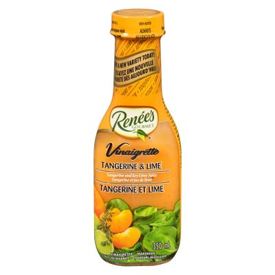 Renee's Tangerine & Lime Vinaigrette 350 mL Bottle