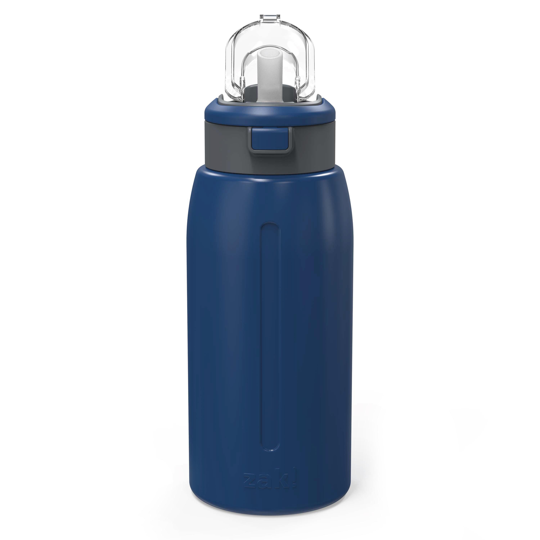 Genesis 32 ounce Stainless Steel Water Bottles, Indigo slideshow image 3