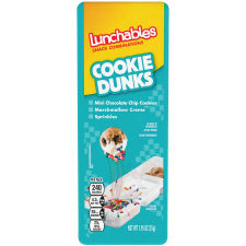 Lunchables Cookie Dunks Snack Combinations, 1.95 oz Tray