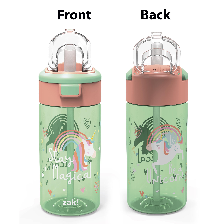 Genesis 18 ounce Water Bottles, Unicorn, 2-piece set slideshow image 3