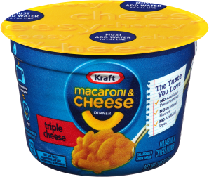 Kraft Triple Cheese Macaroni & Cheese Dinner 2.05 oz Cup image