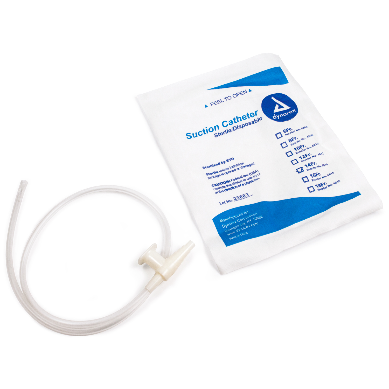 Suction Catheters Sterile - 14 Fr
