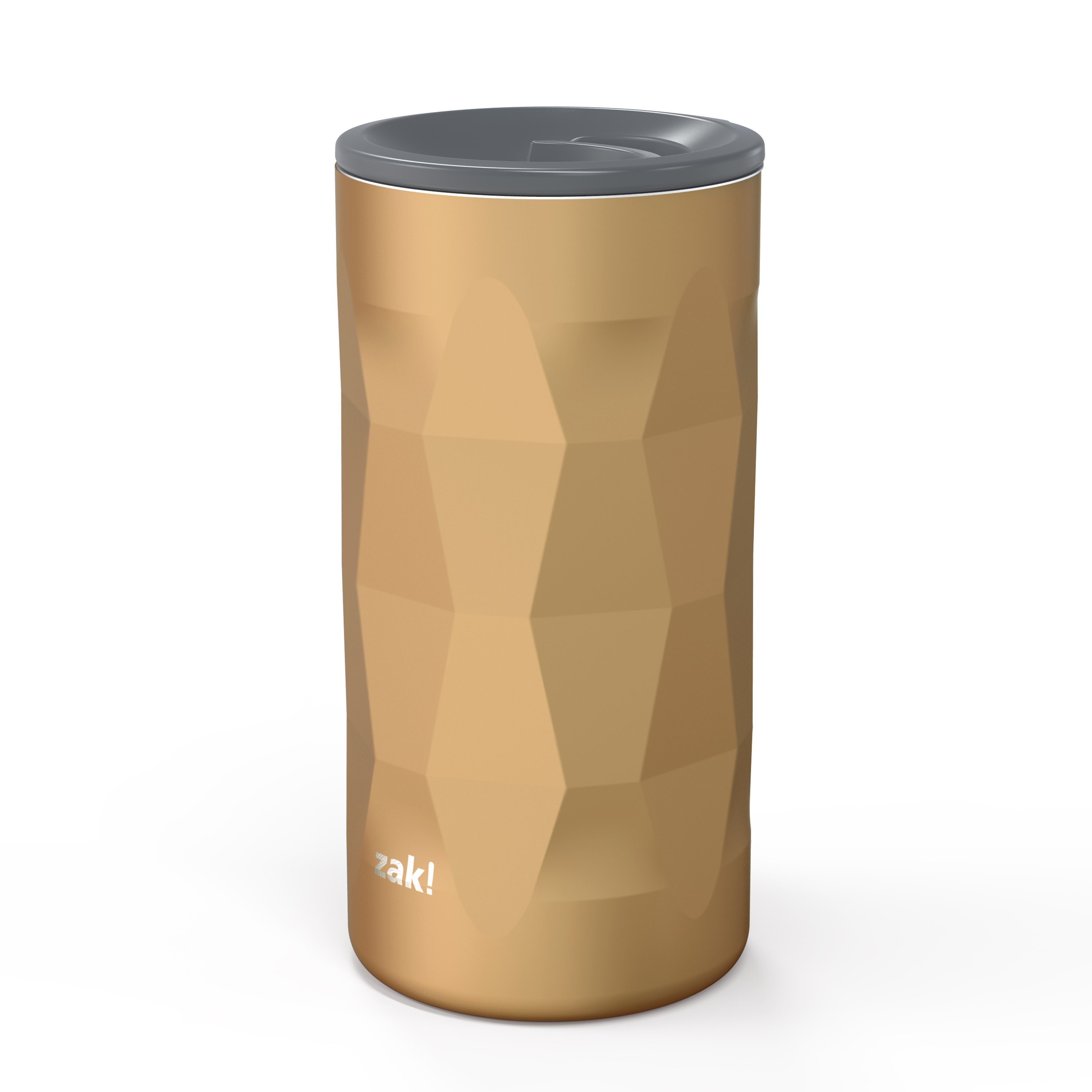Fractal 12 ounce Vacuum Insulated Stainless Steel Tumbler, Copper slideshow image 2