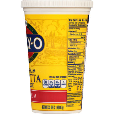 Polly-O Part Skim Ricotta Cheese 32 oz Tub