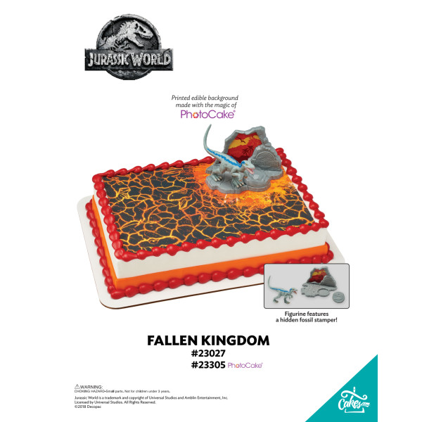 JURASSIC WORLD 2 FALLEN KINGDOM-BGO TMOC PAGE The Magic of Cakes® Page