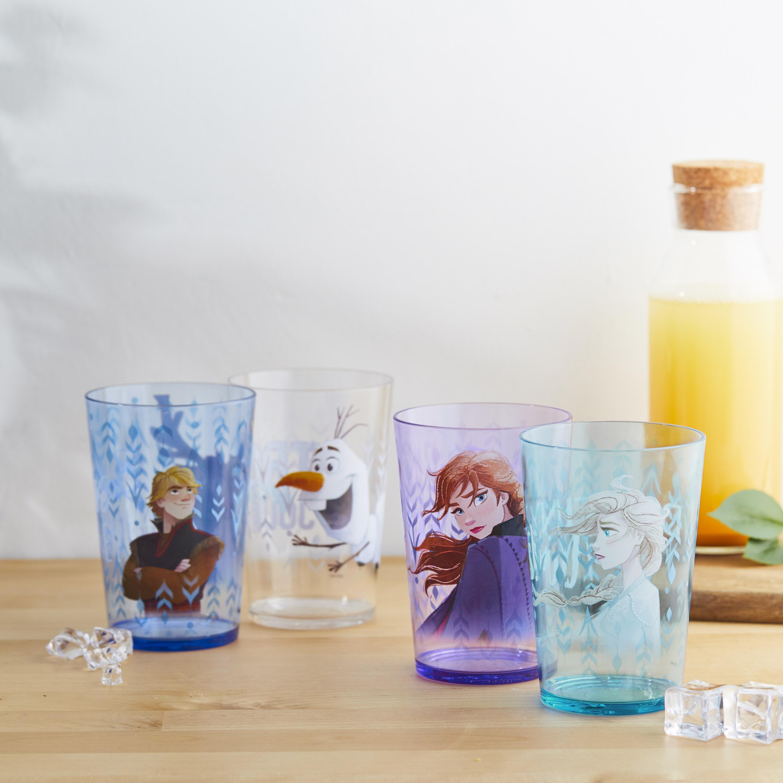 Disney Frozen 2 Movie Tumbler, Anna, Elsa and Friends, 4-piece set slideshow image 2