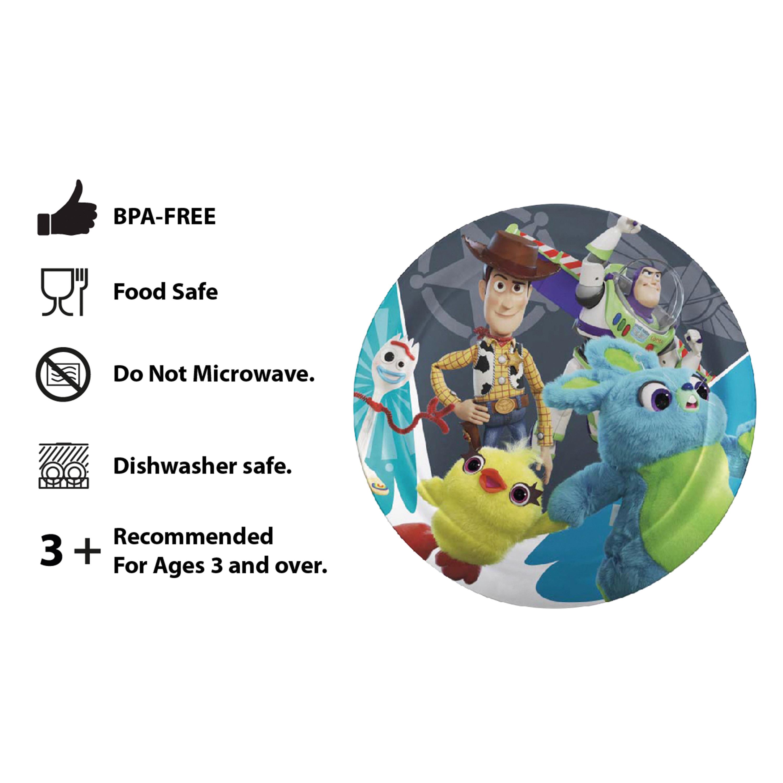 Disney Pixar Dinnerware Set, Woody, Buzz and Friends, 5-piece set slideshow image 7