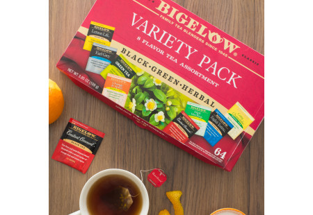 Lifestyle image Fine Tea & Herbal Tea Assortment Variety Pack
