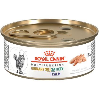 Urinary SO + Satiety + Calm Loaf in Sauce Canned Cat Food