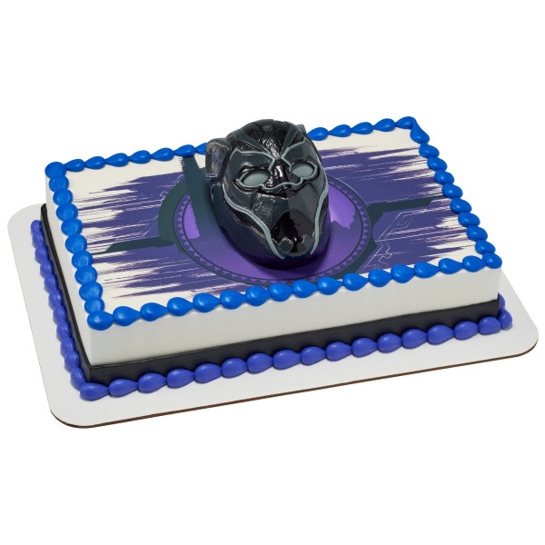 MARVEL Black Panther Warrior King PhotoCake® Edible Image® DecoSet® Background