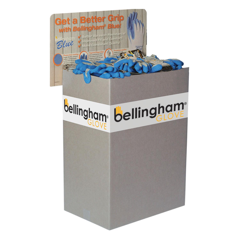 Bellingham Blue™ Glove Half Bin