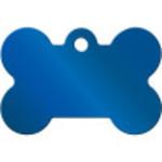 Blue PVD Large Bone Quick-Tag
