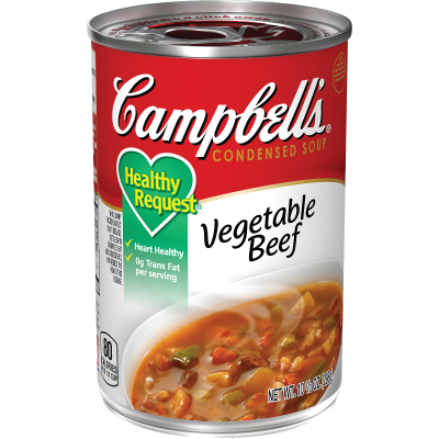 Healthy Request® Vegetable Beef Soup