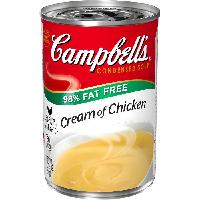 98% Fat Free Cream of Chicken Soup