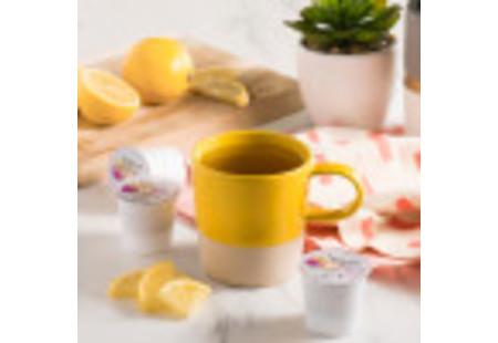 Mug of Keurig Bigelow Beneifts Lemon and Echinacea Herbal Tea  K-Cup