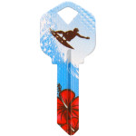 WacKey Surfer Key Blank