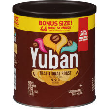 Yuban Traditional Medium Roast Ground Coffee, 37.2 oz Canister