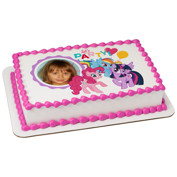 My Little Pony™ Let's Party PhotoCake® Frame