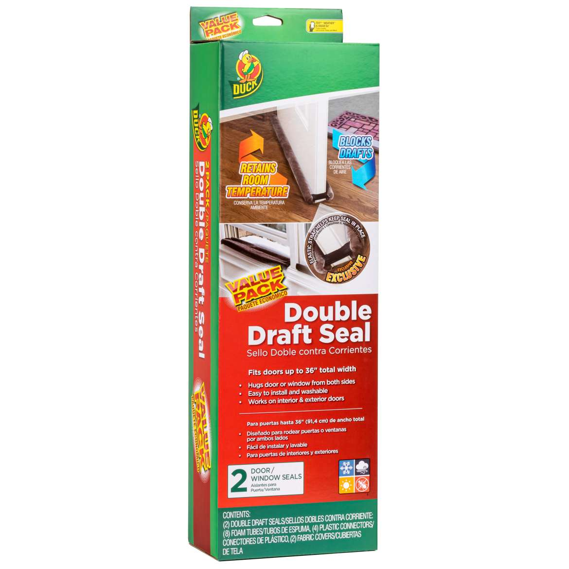 Double Draft Seal