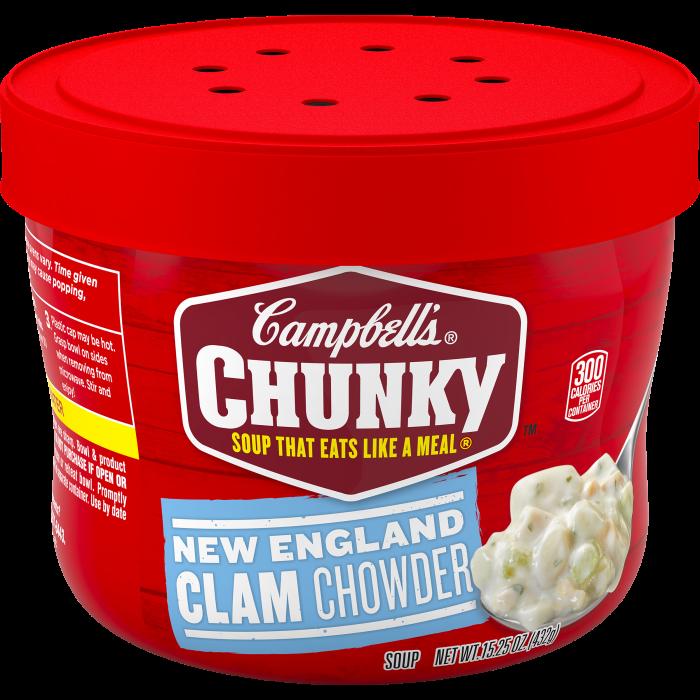 New England Clam Chowder Soup