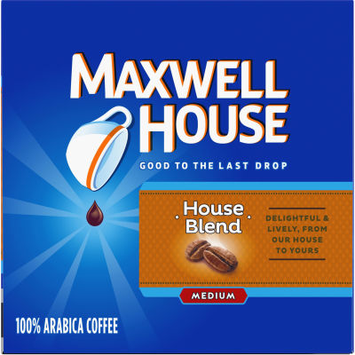 Maxwell House House Blend Coffee K-Cup Packs, 12 count Box