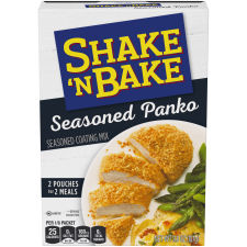Kraft Shake 'n Bake Seasoned Panko Seasoned Coating Mix 3.8 oz Box