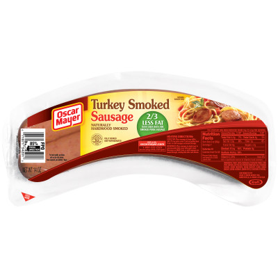 Oscar Mayer Smoked Turkey Sausage 14 oz