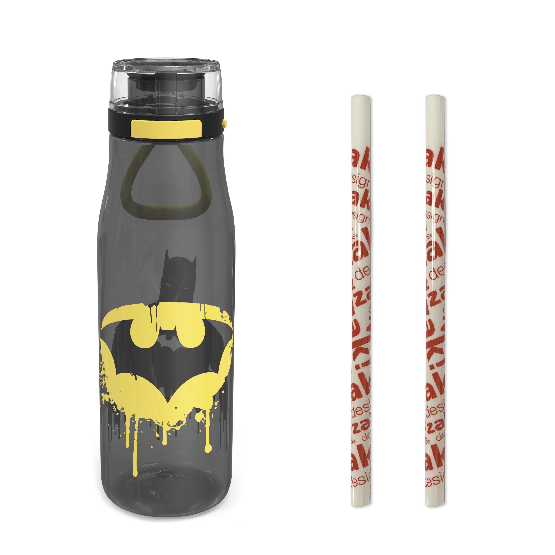 DC Comics 25 ounce Water Bottle, Batman, 3-piece set slideshow image 2