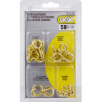 OOK 50 Piece Assorted Screw Eye Kit