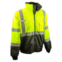 Radians SJ110B Class 3 Two-in-One High Visibility Bomber Safety Jacket
