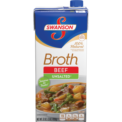 Unsalted Beef Broth