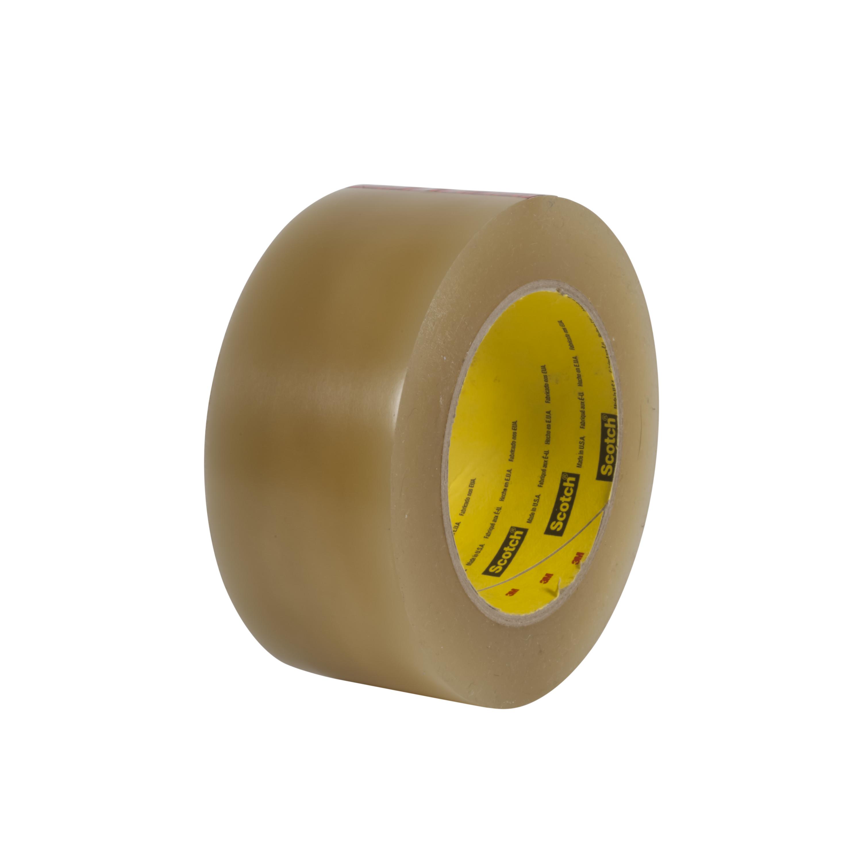 3M™ Vinyl Tape 477, Transparent, 1 in x 36 yd, 7.2 mil, 36 rolls per case