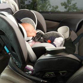 EveryStage DLX All-In-One Convertible Car Seat with Easy Click Install