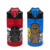 Star Wars 16 ounce Water Bottle, Darth Vader and Yoda, 2-piece set slideshow image 1