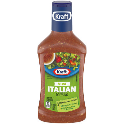 Kraft Viva Italian Dressing 16 fl oz Bottle