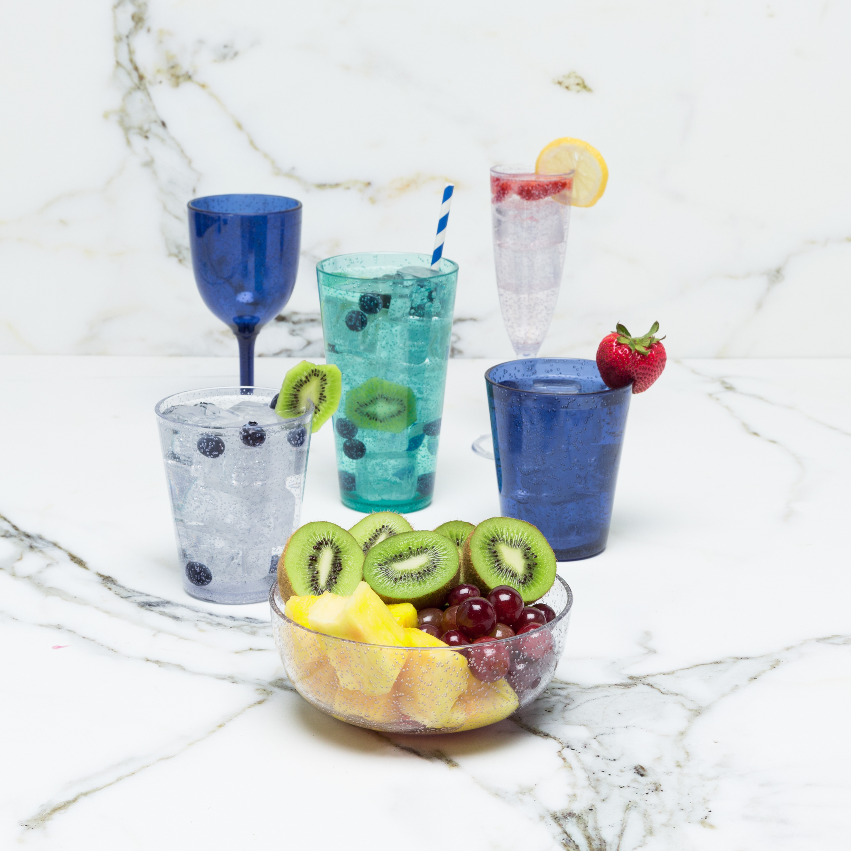 Spritz 23 ounce Highball Glass, Mint, 6-piece set slideshow image 2