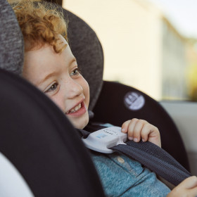 EveryStage All-In-One Convertible Car Seat with SensorSafe + Easy Click Install