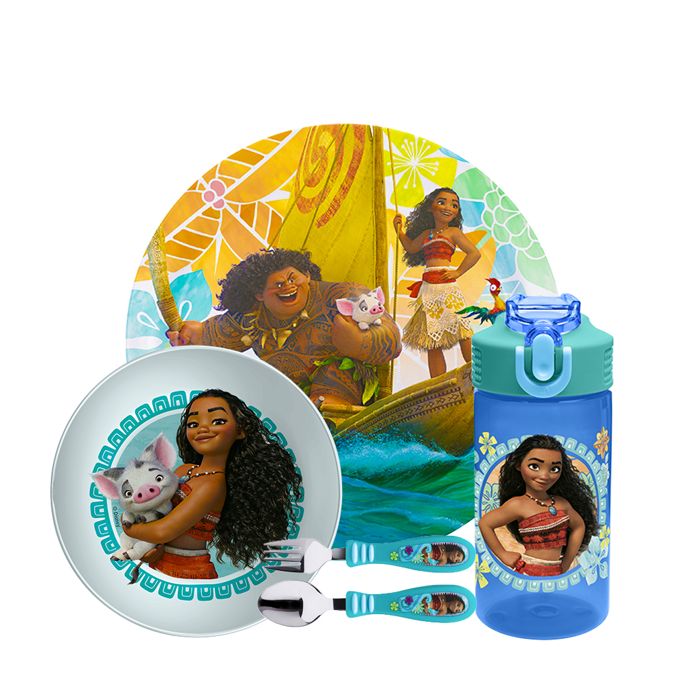 Disney Dinnerware Set, Moana, 5-piece set